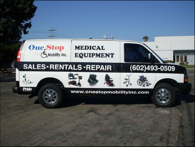 OSM Company Delivery Van