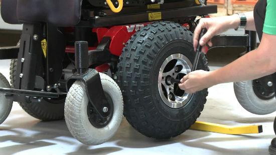 Wheelchair Equipment Maintenance