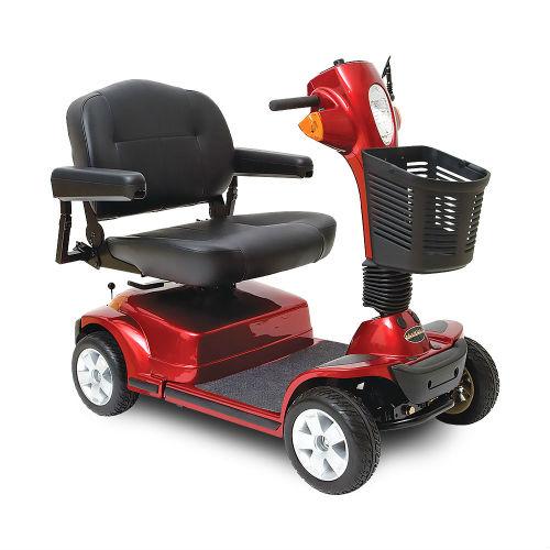 Pride-Mobility-Maxima-4-Wheel-Red
