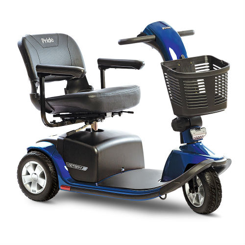 Pride Mobility Victory 10 3 Wheel Blue