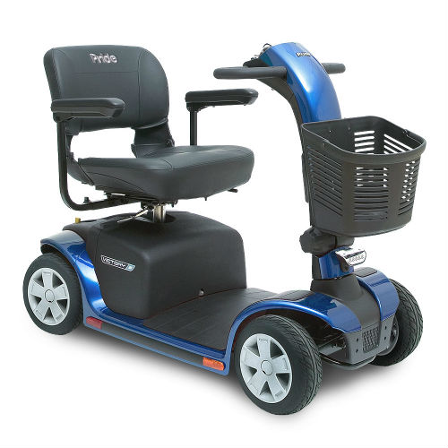 Pride Mobility Victory 10 4 Wheel Blue