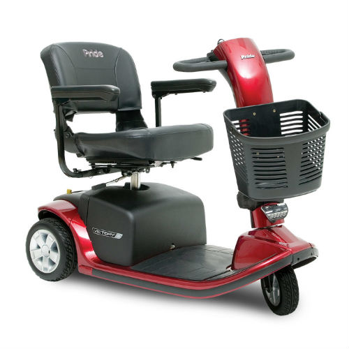 Pride Mobility Victory 9 3 Wheel Scooter