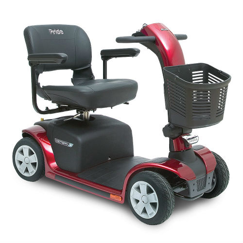Pride Mobility Victory 9 4 Wheel Red